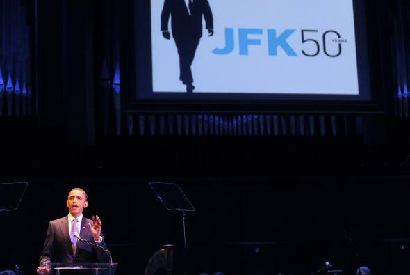 Según apuntó Obama el jueves, el legado de Kennedy no está en su lista d...