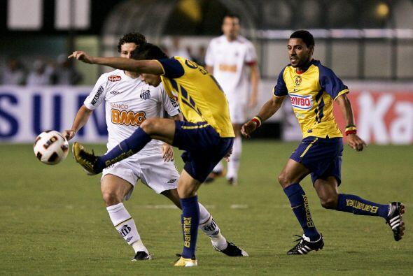 El primer partido lo abren el América de México ante el Santos de Brasil...