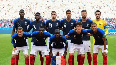 El posible XI de Francia para buscar levantar la Copa del Mundo