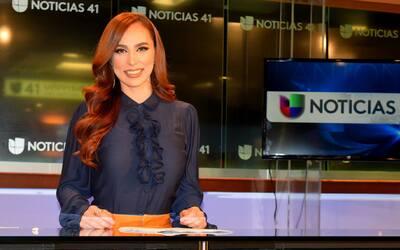 Prissila Sánchez presentadora de Edición Digital San Antonio