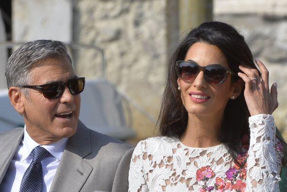 El segundo lugar se lo llevó la boda de George Clooney y Amal Alamuddin,...