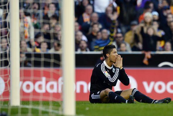 Ronaldo intentó cargar con el Real Madrid y meterlo al partido pero los...