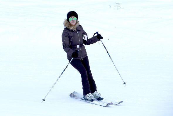 Las dos hermanitas Kardashian prefirieron ir a jugar con la nieve a Park...