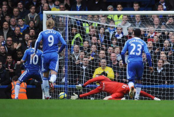 Casi sin merecerlo, lo pudo haber ganado pero Mata erró un penalty.