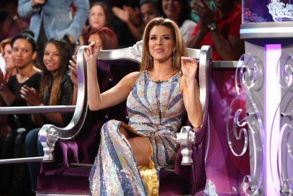 Alicia Machado está muy emocionada, pues a lo largo de la compete...