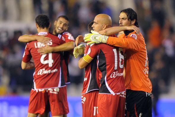 El partido terminó 2-1 y el Mallorca se llevó un sorpresivo empate.