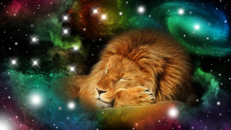 León cósmico
