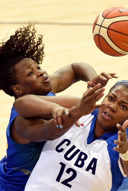 Cuba se apoderó de la medalla de bronce en el basquetbol para mujeres de...