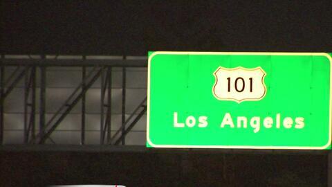 Un tiroteo en la carretera 101 deja a un hombre herido