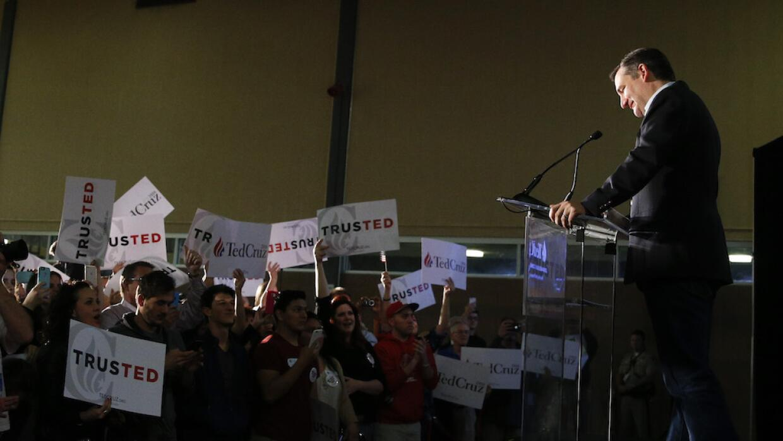 Ted Cruz queda en el tercer puesto