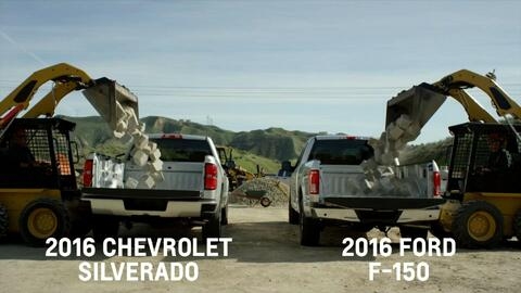 Guerra de Pickups: Chevy Silverado vs Ford F-150