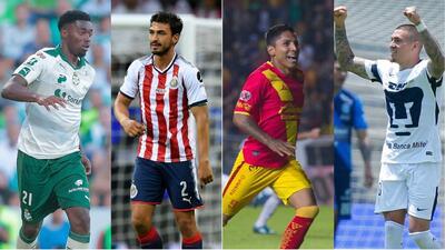 Los 'cracks' que perdió la Liga Mx para el Apertura 2018