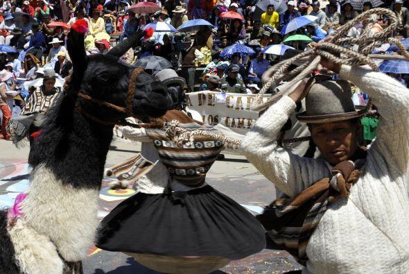 La gran fiesta se espera para el sabado en la ciudad andina y minera de...