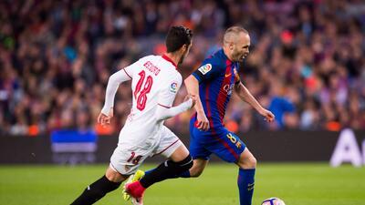 Iniesta, el 'mago' del Barcelona, cumplió 700 partidos con la camiseta azulgrana