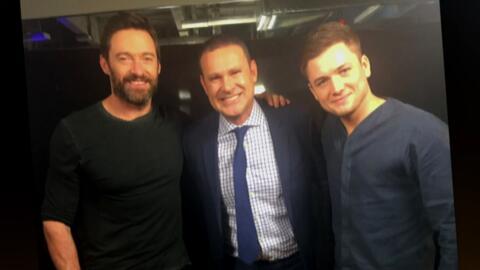 Alan Tacher pasó a visitar a Hugh Jackman, ¡entérate qué le contó!