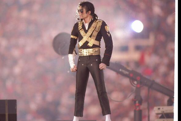 En la historia del medio tiempo del Super Bowl, también el 'Rey del Pop,...