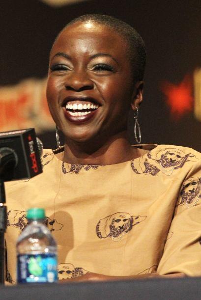 En Comic Con de Nueva York, en octubre de 2013, respondiendo preguntas d...