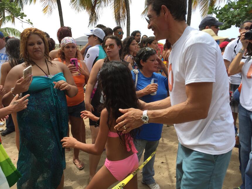 Celebramos tremendo party playero en Los Tubos, Mar Chiquita y Vega Baja.