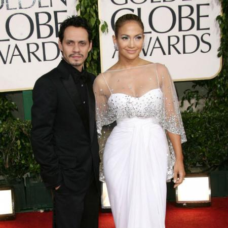 Marc Anthony y Jennifer Lopez antes de su separación