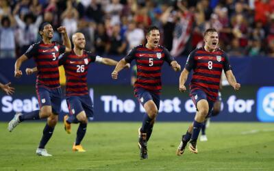 EEUU celebra el golazo que le dio su sexta Copa Oro