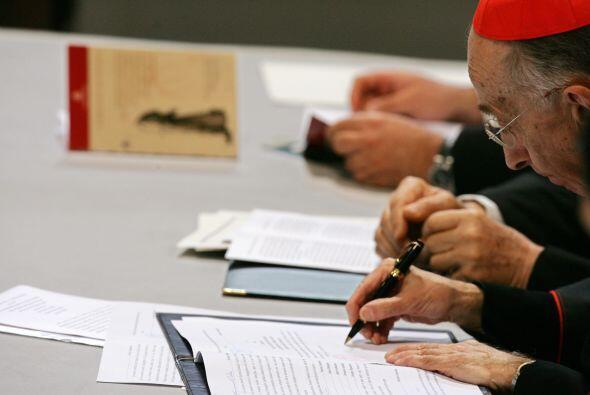 Esta semana, la comisión de cardenales y obispos de la Congregaci...