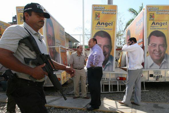 La jornada electoral que vivió Guerrero para elegir a su gobernador se l...