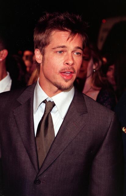 Brad Pitt antes y después