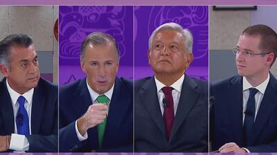 Entre acusaciones de corrupción se realizó el tercer debate presidencial de México