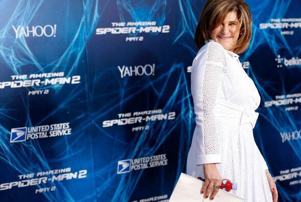 28.- AMY PASCAL: Tiene 56 años y es la co-presidenta de Sony Pict...