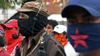 """Subcomandante Marcos"", del EZLN."