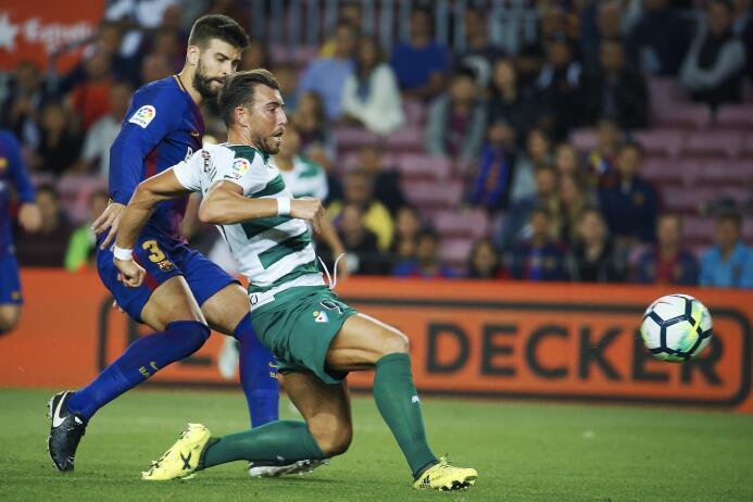 Faena de Messi en la goleada 6-1 del Barcelona sobre Eibar 6364146055159...