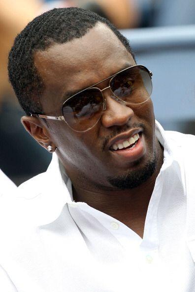 El cantante P. Diddy también se dio tiempo para asistir a este Grand Slam.
