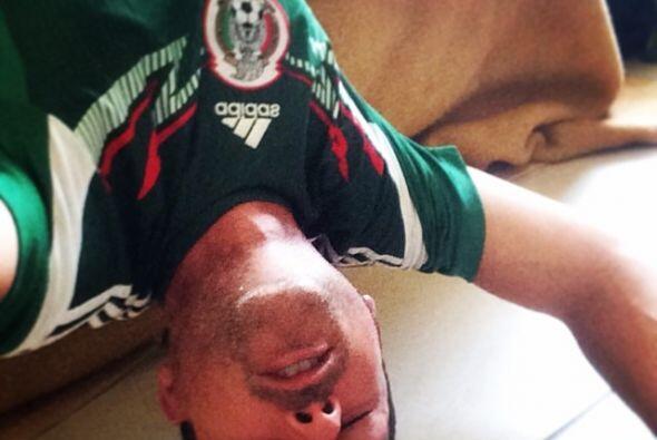 Carlos Calderón de plano se quería desmayar.  Todo sobre el Mundial de B...
