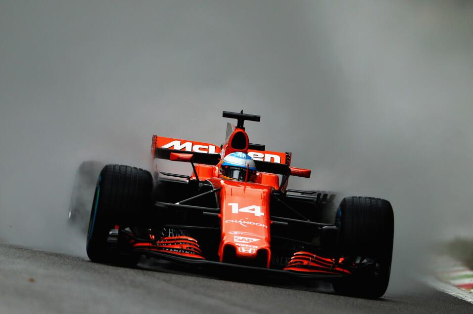 13. Fernando Alonso (McLaren) - Mejor tiempo: 1:38.202 / 11 vueltas