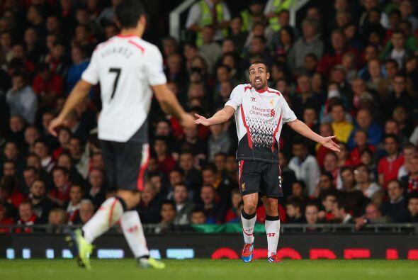 La deseperación fue apoderándose del Liverpool que se ve&i...