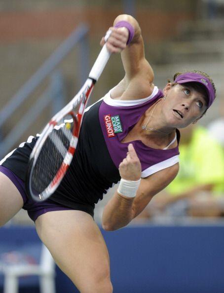 La australiana Samantha Stosur, novena favorita, venció a la alemana Ang...
