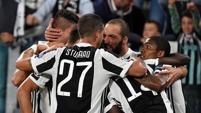 Así fue el efusivo festejo de la Vecchia Signora tras romper el cero en...