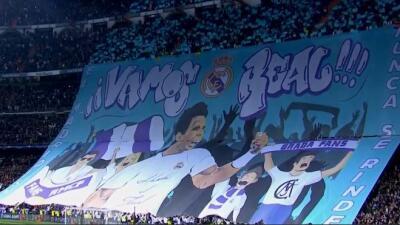 """""""El Madrid nunca se rinde, ¡vamos Real"""", fue el mensaje para l..."""