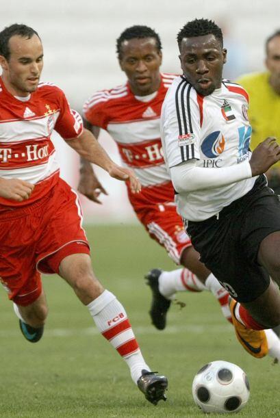 En el 2008 tendría su segunda experiencia en el fútbol europeo con el Ba...