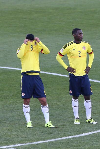 Colombia, plagada de estrellas del fútbol mundial, no pudo imponer desde...