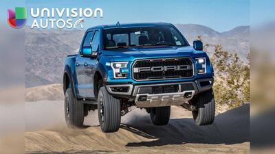 Conoce la Ford F-150 Raptor mejorada para 2019