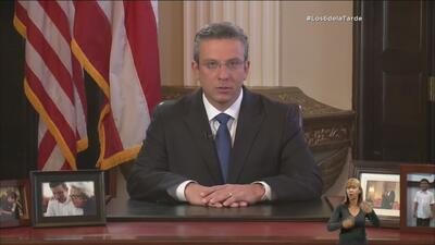 Gobernador de Puerto Rico se dirigió al País sobre crisis fiscal en Puer...