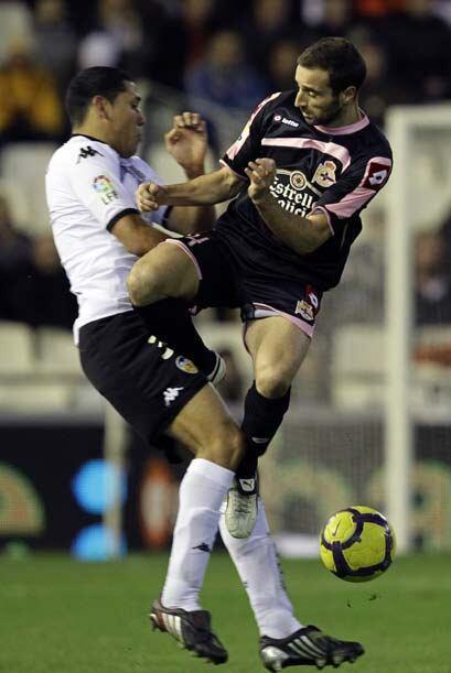 El Deportivo La Coruña se interpuso en las aspiraciones del Valencia con...