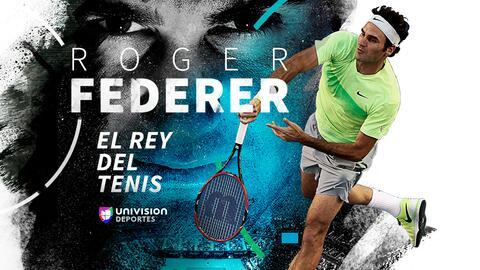 Promo Roger federer infografía