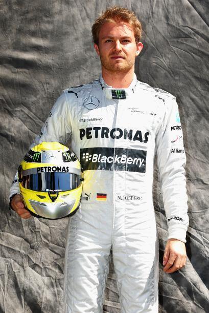 Nico Rosberg, Alemania, Mercedes.