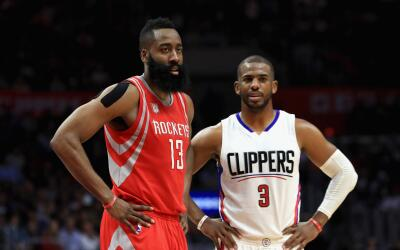 Chris Paul se muda a Houston para formar un binomio estelar con James Ha...