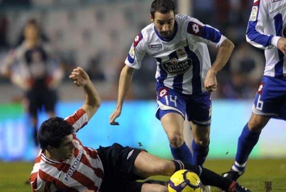 El Deportivo La Coruña recibió al Athletic de Bilbao en su feudo de Riazor.