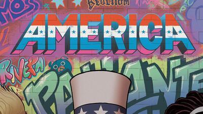 America Chavez sabe volar, tiene una fuerza extraordinaria y puede viajar entre dimensiones