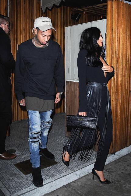 Kylie Jenner con escotazo