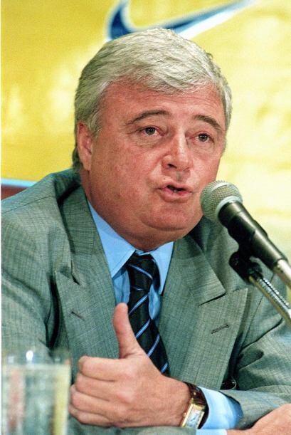 Ricardo Texeira, miembro desde 1994, presidente de la Confederación Bras...